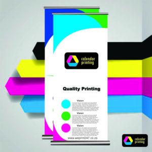 Executive Pullup Banners - calendar printing