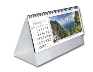 Tent calendar printing