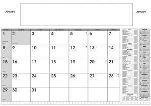 desk planner calendar printing